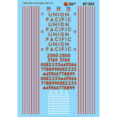 Decal Union Pacific
